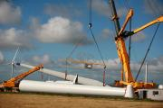 Installation of Alltwalis wind farm